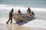 Fishermen in Nouakchott, Mauritania