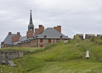 Fortress of Louisbourg in Nova Scotia, Canada