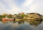 Old Fishing Village Peggy's Cove in Nova Scotia, Canada