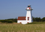 The New London Lighthouse in Prince Edward Island, Canada
