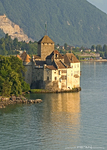 Chillon Castle on Lake Geneva, Switzerland