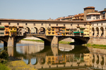 Ponte Vecchio over The Arno river in Florence, Italy