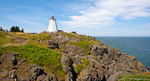Swallowtail Lighthouse, Grand Manan Island in New Brunswick, Canada