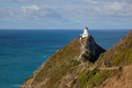 Lighthouse at Nugget Point, The Catlins, Otago Region, South Island, New Zealand