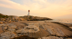 Peggy's Cove Lighthouse, Nova Scotia, Canada