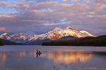 Maligne Lake in Jasper Alberta, Canada