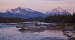 Medicine Lake in Jasper Alberta, Canada