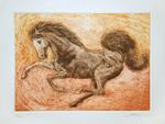Horse (Intaglio and etching technique)