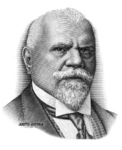 Justo Sierra (Intaglio engraving)