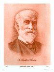 Sir Sandford fleming (Dry point and buring on copper)
