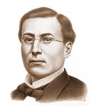 Acuarela del General Ignacio Zaragoza